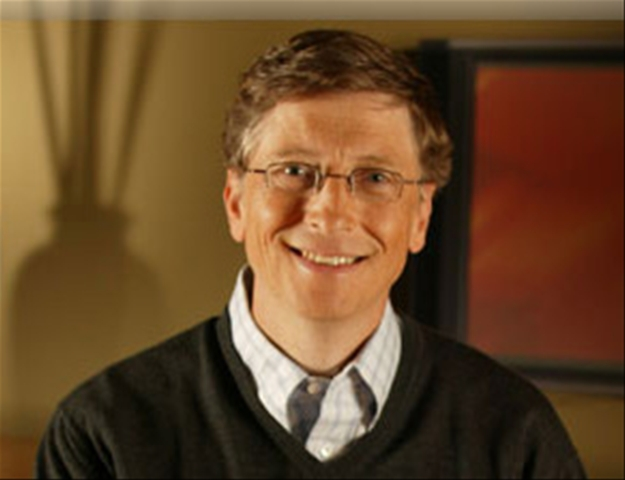 one of the best examples of entrepreneurial vision is bill gates the man whos widely credited with both launching the personal computer revolution and